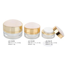 Empty Acrylic Cosmetic Cream Jars