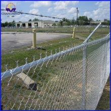 PVC Chain Link Fence Yard Guard Fence Gate