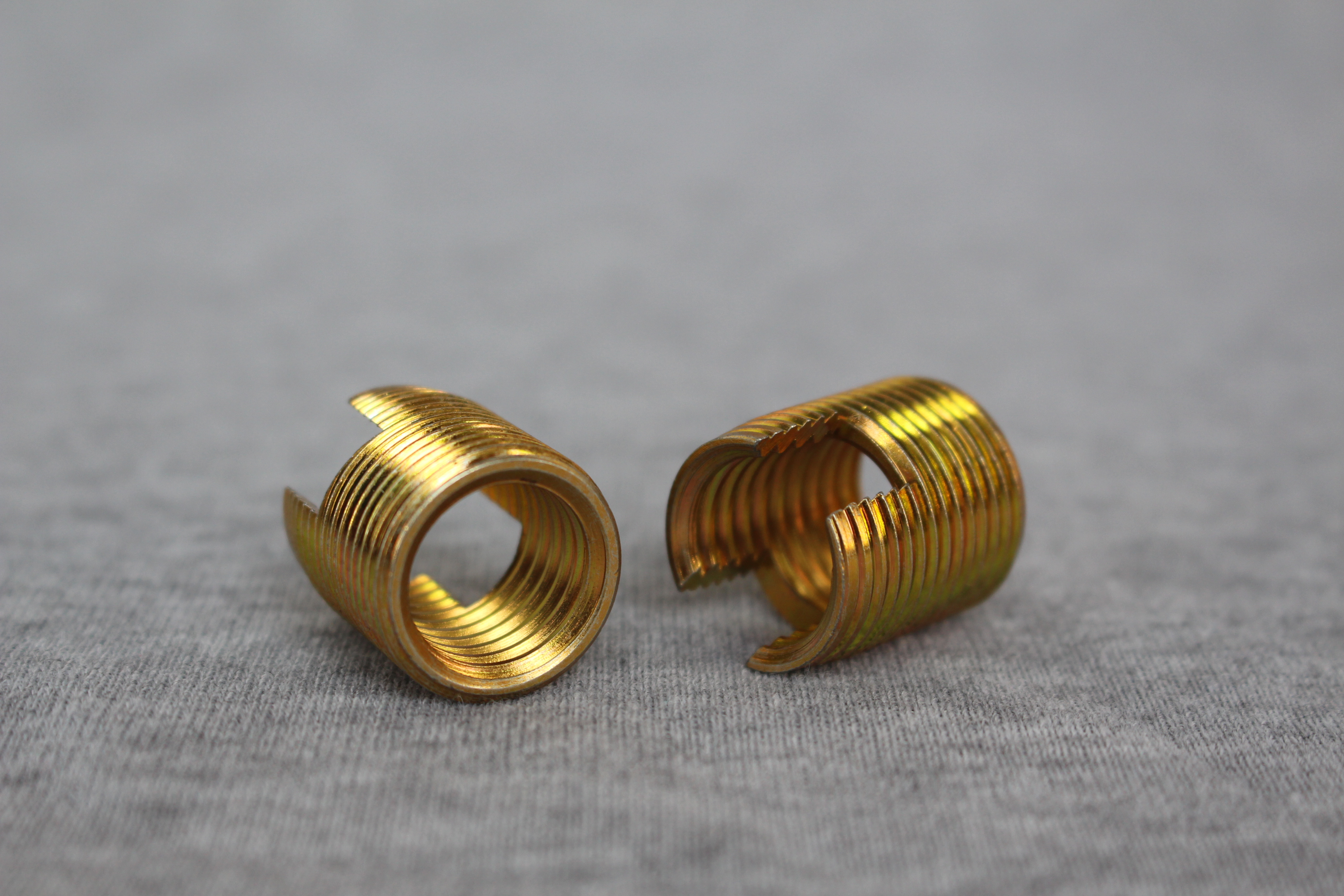Brass Self Tapping Thread Inserts