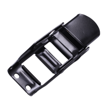 Black Electrophoretic Coated OverCenter Buckle