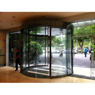 Gate automation curved sliding door system