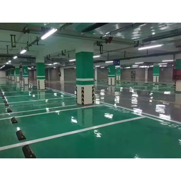Epoxy flat coating floor paint for parking lot