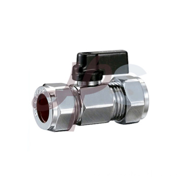 Brass ball valves with polishing surface