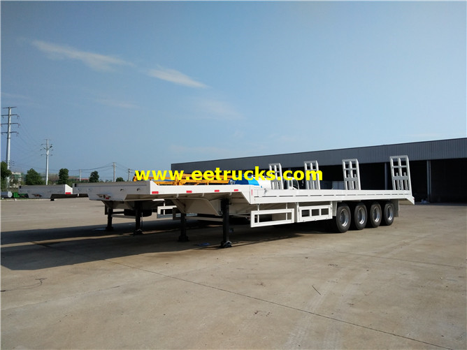 40ft Flatbed Cargo Transport Trailers