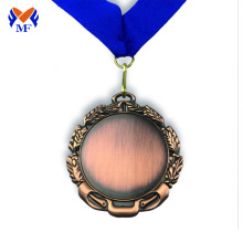Low MOQ for Football Medal The Blank design bronze award sports medals export to Botswana Wholesale
