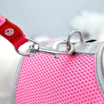 Pink XS Airflow Mesh Harness with Velcro