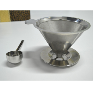 Durable Heat Resistant 304 Stainless Steel Coffee Filter
