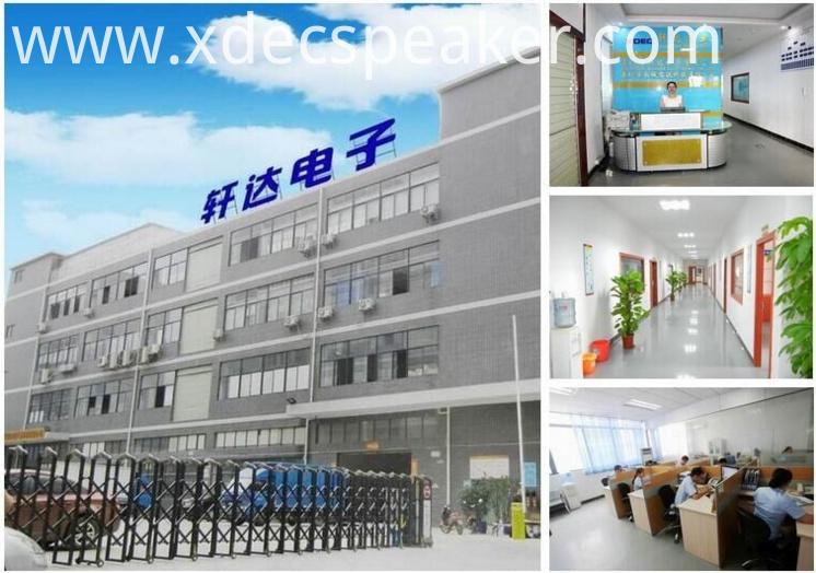 XDEC speaker Factory
