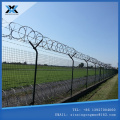 High security airport fence