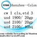 Sea Freight Service from Shenzhen to Colon