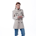 Fashion lady's cashmere jacket