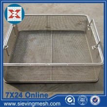 Bottom price for China Storage Basket,Metal Wire Baskets,Wire Mesh Baskets ,Small Wire Baskets Manufacturer Medical Sterilization Wire Basket export to Congo, The Democratic Republic Of The Manufacturer
