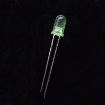 Super-Bright 5mm Green Diffused LED 520nm LED