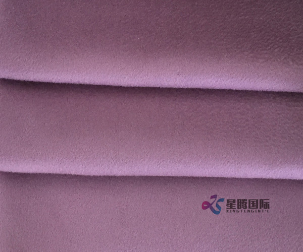 Double Face Water Wave Woven 100% Wool Fabric