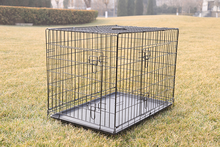 cheap wire welded dog crate