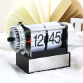 Small White Flip Alarm Clock