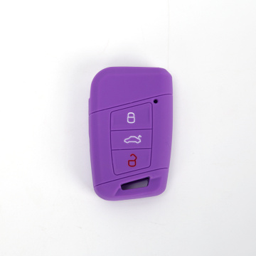 Silicone car key protective cover accesorios for Volkswagen