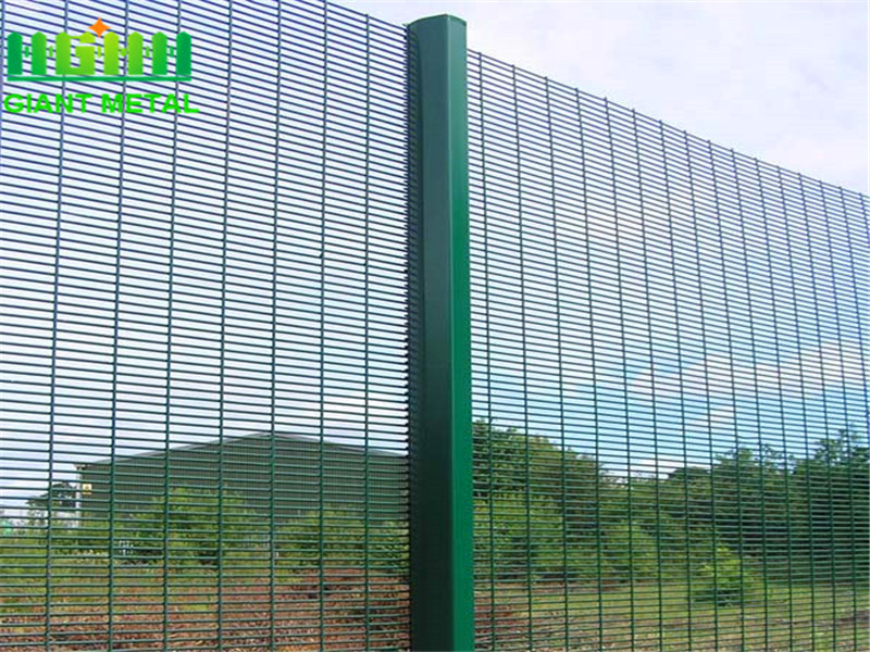 Free Sample High Security Galvanized 358 Security Fence