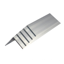 Standard extruded aluminium angle section
