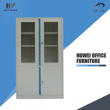 Vision Door Steel Cabinets 4 door bookcase