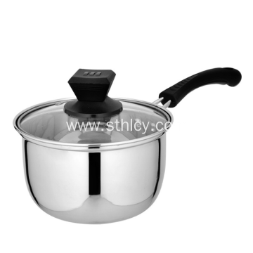 Thicken Milk Pot With Stainless Steel Double Bottom