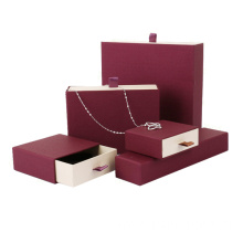 Sliding Drawer Box For Necklace Packaging