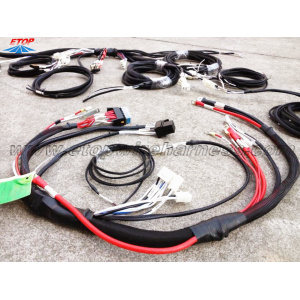 Custom caravan wire assemblies