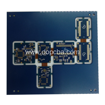 Four Layers Rigid Flex Circuits Board