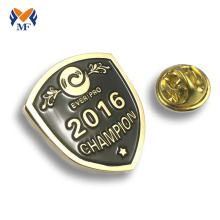 High reputation for Custom Enamel Badges zinc alloy school pin badge souvenir gifts export to Tanzania Wholesale