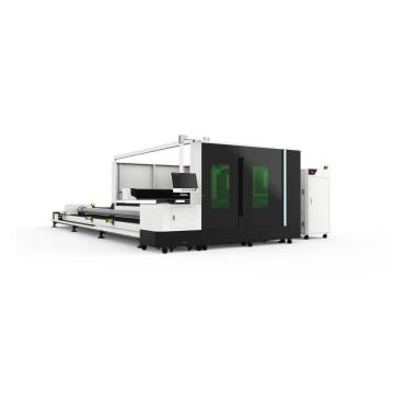 Enclosed Plates And Pipes Fiber Laser Cutting Machine