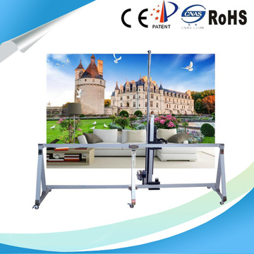 Customized Height Indoor Wall Direct Painting Machine