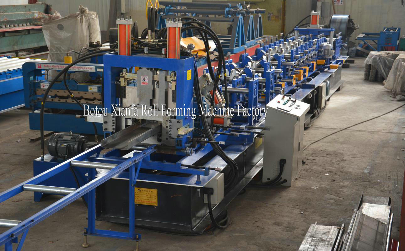 Change Size CZ Purlin Forming Machine