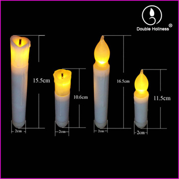 electronic flicking led stick candle