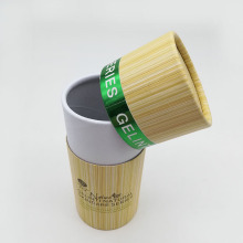 Cylinder Skincare Packaging Paper Tube Box