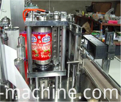hot melt glue labeling machine2