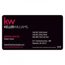 Custom Printed Beauty Salon Business Card Magnets