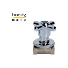 Personlized Products for Supply Angle Valves, Brass Angle Valve, Angle Seat Valve from China Supplier Cross Handle Swivel Switch Angle Valve supply to South Korea Manufacturer