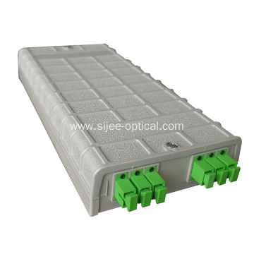 Europe style for Fiber Optic Junction Box SC 6 Cores Wall Mounted Fiber Optical Terminal Box supply to Mauritius Manufacturer