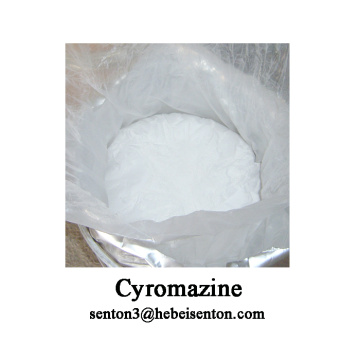 Factory making for Agrochemical Crop Protection Insecticide, White  Powder Insecticide Cyromazine, Cyromazine Poison To Kill Flies Wholesale from China Inhibit Larval And Pupal Development Cyromazine export to France Supplier