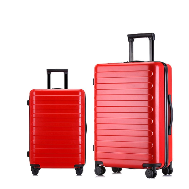 Red Hard Shell Luggage