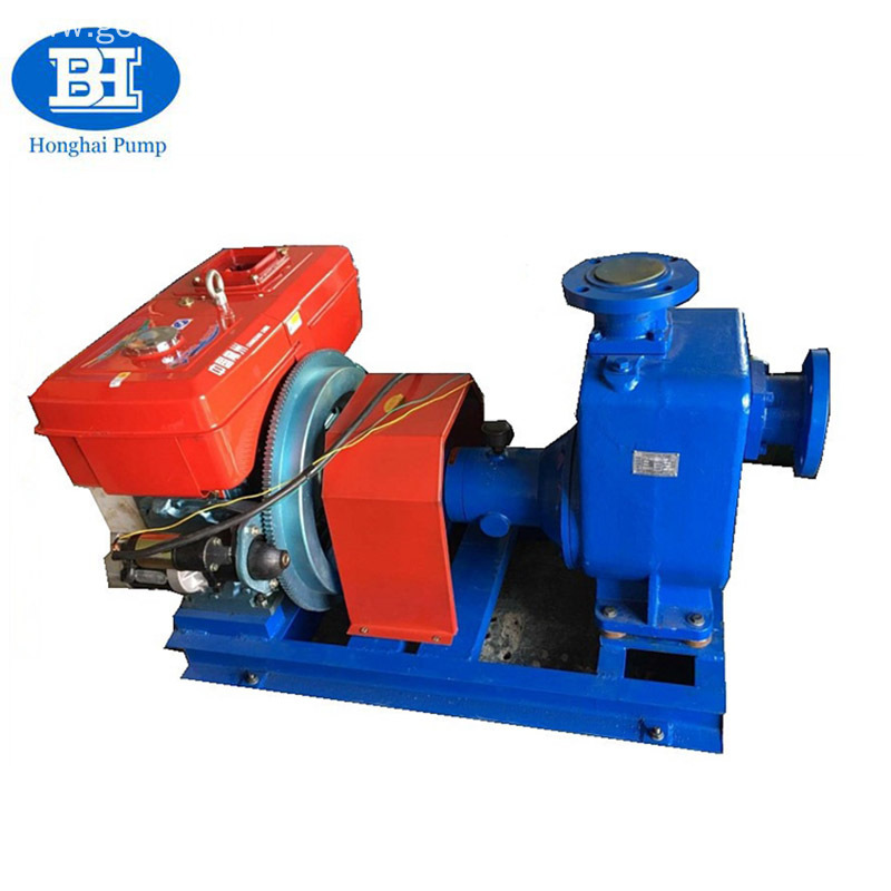 Horizontal Electric Diesel Fuel Water Suction Centrifugal Pump