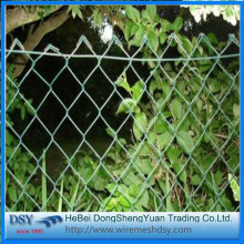 Best quality Low price for Pvc Coated Diamond Mesh Diamond Cheap Chain Link Fence for Sale export to South Korea Suppliers