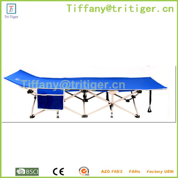 China factory Comfortable portable Metal Camping cot portable bed