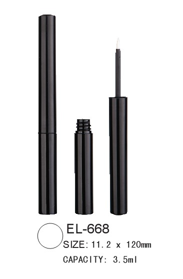 round cosmetic eyeliner packaging