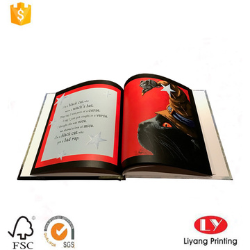 Custom hardcover children story book printing