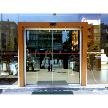 Philippines market automatic steel sliding door with sensor