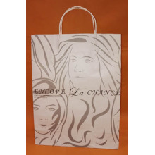 White kraft Paper Bag-encore