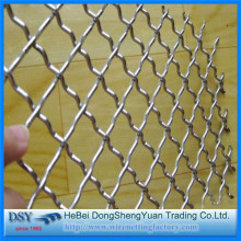 Hot Square Screening Galvanized Crimped Wire Mesh