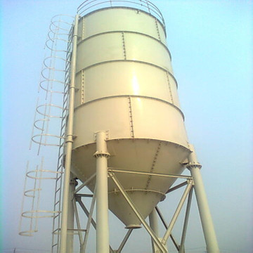 Horizontal 100 ton cement silo price