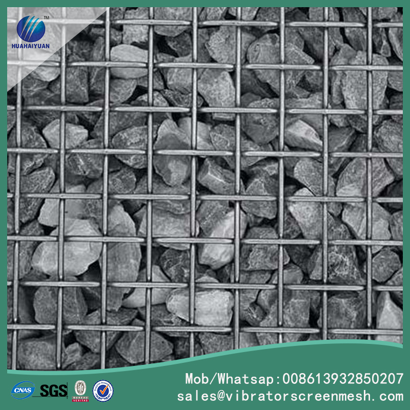 Flat Top Woven Wire Flooring